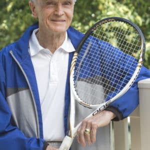 Resident tennis