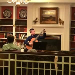 Braulio Bosi performs at BSP