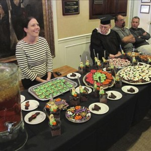 Resident/Staff Halloween Party Dinner 2