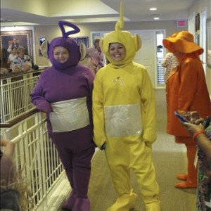 Resident/Staff Halloween Party Teletubbies