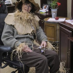 Resident/Staff Halloween Party Straw Man