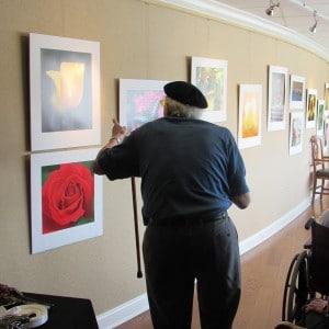 Artist reception BSP Art Gallery
