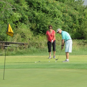 Saint Luke's Home Care & Hospice Golf Tournament Putting