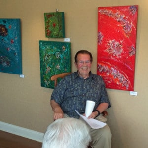Monty Brown Artist Reception