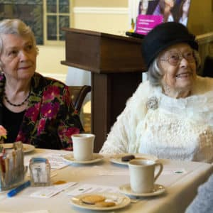 Girl Scout Tea at Bishop Spencer Place