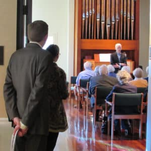 BSP Chapel Organ Dedication