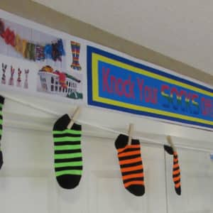 Knock Your Socks Off In-Service Training