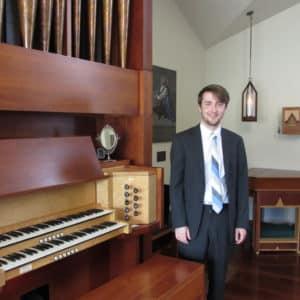 Andrew Morris Organist at BSP