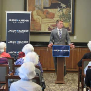 Jason Kander Missouri Senate Race