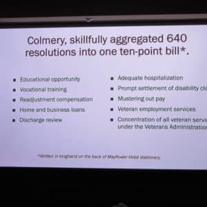 Harry W. Colmery, Birth of G.I. Bill