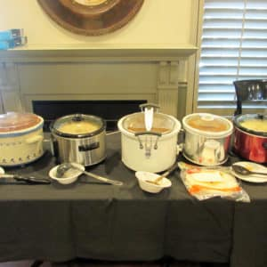 BSP soup and chili cook-off