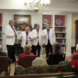 The Armchair Chorderbacks Barbershop Quartet