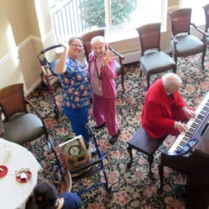Assisted Living and Skilled Nursing Christmas Party 2017