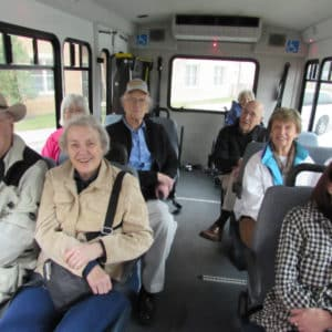 Bus Trip to Shawnee Indian Mission Fairway KS