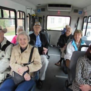 Bus Trip to Shawnee Indian Mission Fairway KS
