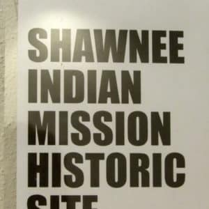 Shawnee Indian Mission Historic site Fairway KS
