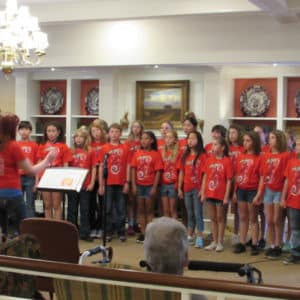 Pembroke Hill Fifth Grade Choir at BSP