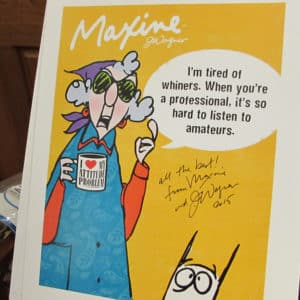 John Wagner Maxine cartoon creator