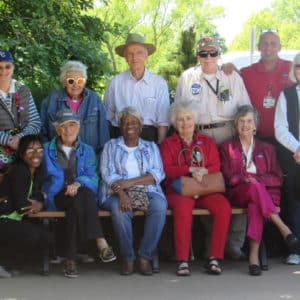 BSP residents visit the Arboretum