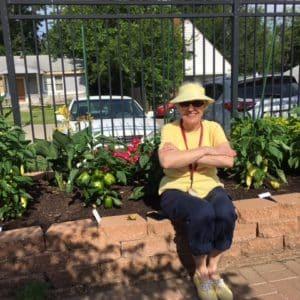 Beanstalk garden tour at BSP