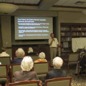 Tim Degnan speaks at BSP about Iran